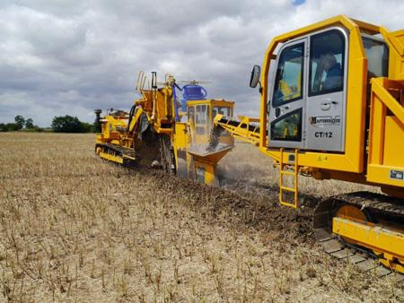 land drainage in action